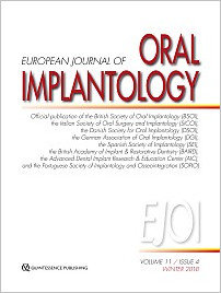 International Journal of Oral Implantology, 4/2018