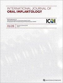 International Journal of Oral Implantology, 1/2020