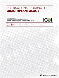 International Journal of Oral Implantology, 2/2020