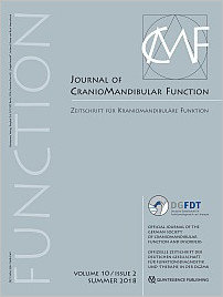 Journal of Craniomandibular Function, 2/2018