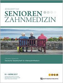 Senioren-Zahnmedizin, 1/2017