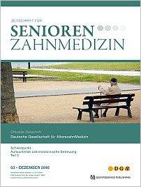 Senioren-Zahnmedizin, 3/2018