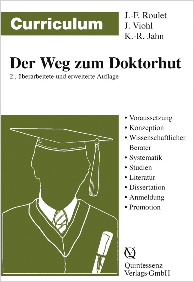 Roulet: Curriculum Der Weg zum Doktorhut