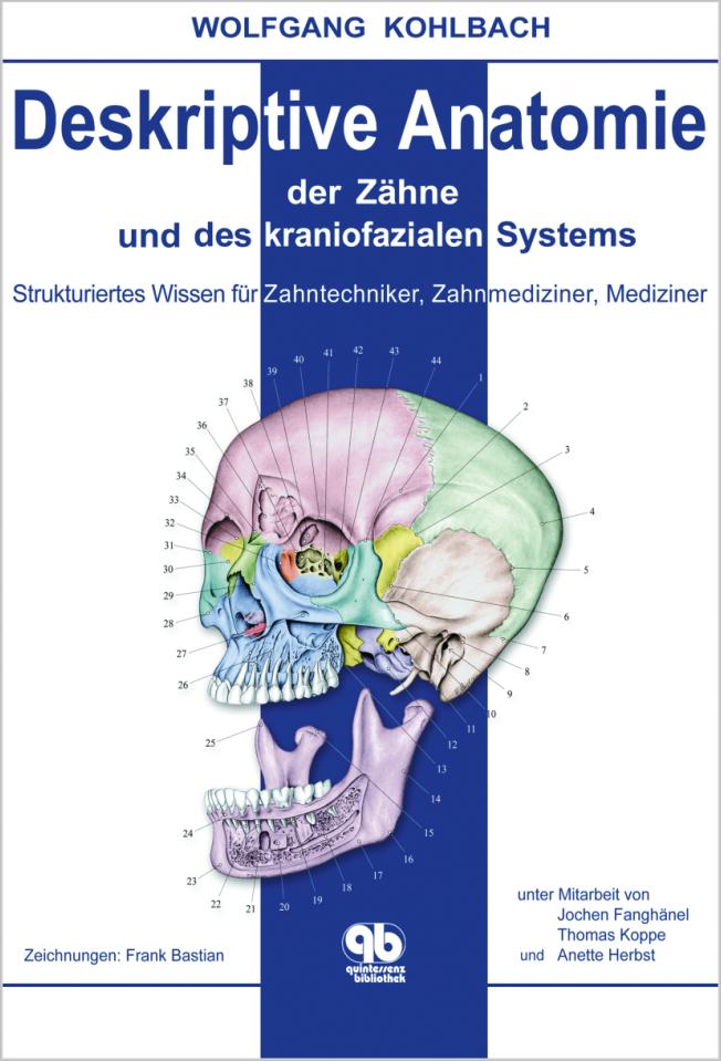 Kohlbach: Deskriptive Anatomie der Zähne und des kraniofazialen Systems