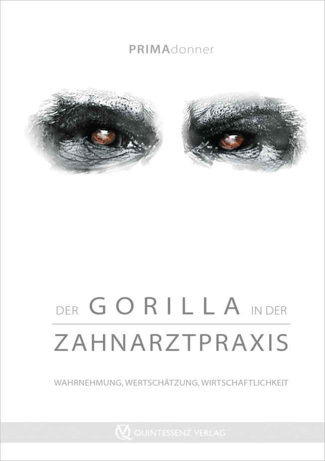 Deda: Der Gorilla in der Zahnarztpraxis
