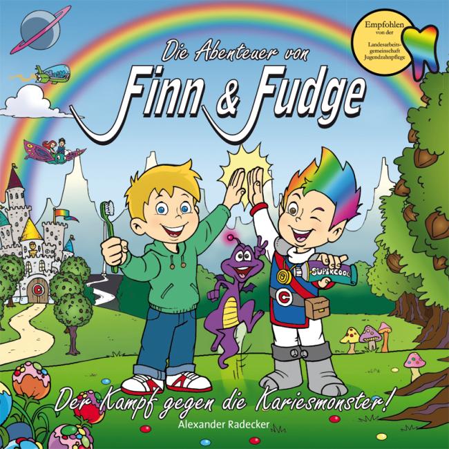 Radecker: Die Abenteuer von Finn & Fudge Band 1