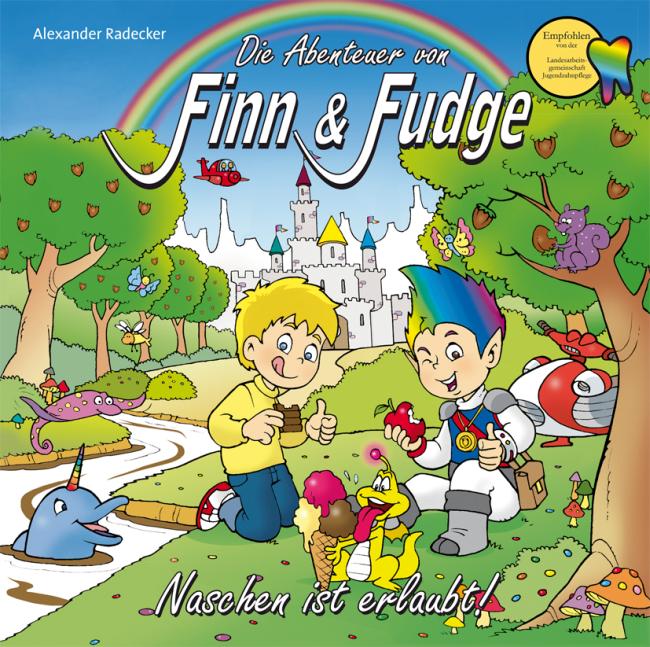 Radecker: Die Abenteuer von Finn & Fudge Band 2