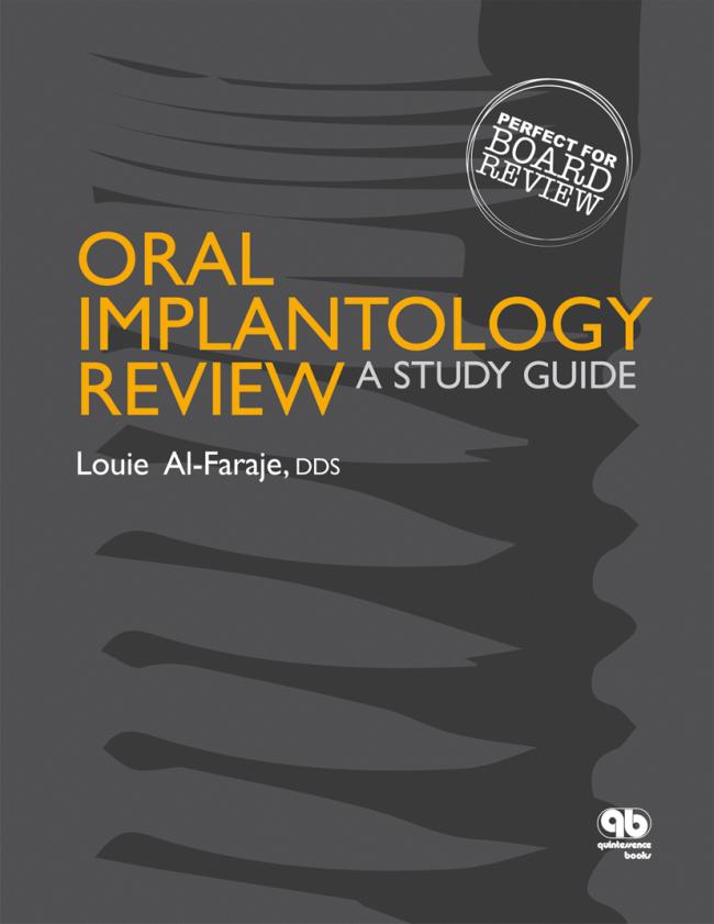 Al-Faraje: Oral Implantology Review