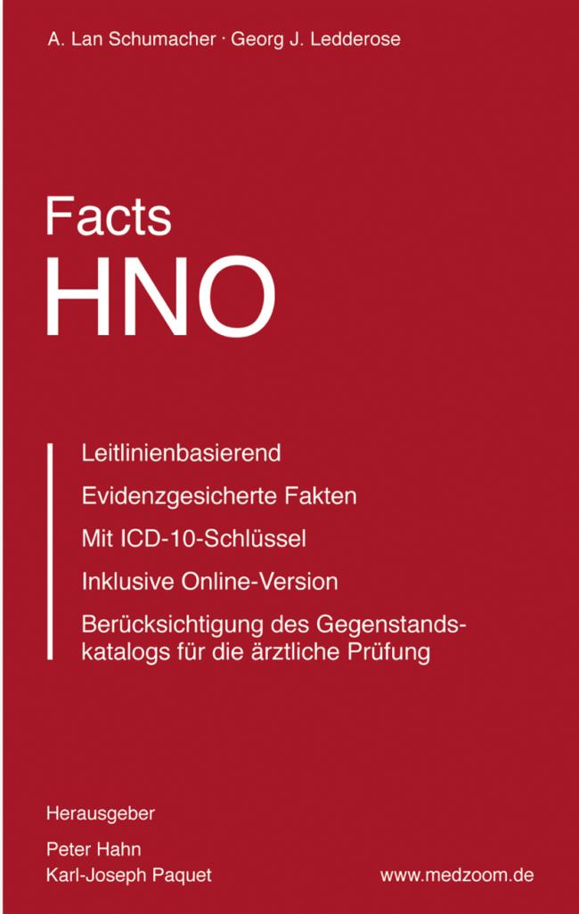 Schumacher: Facts HNO