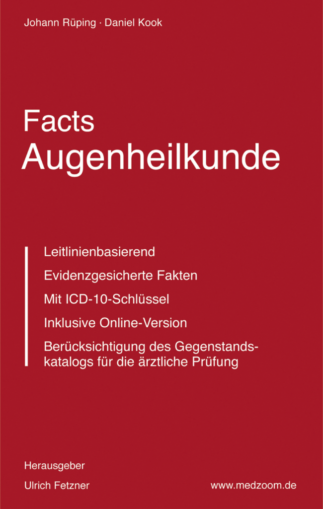 Rüping: Facts Augenheilkunde
