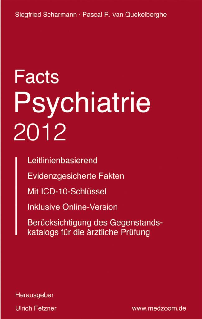 Scharmann: Facts Psychiatrie