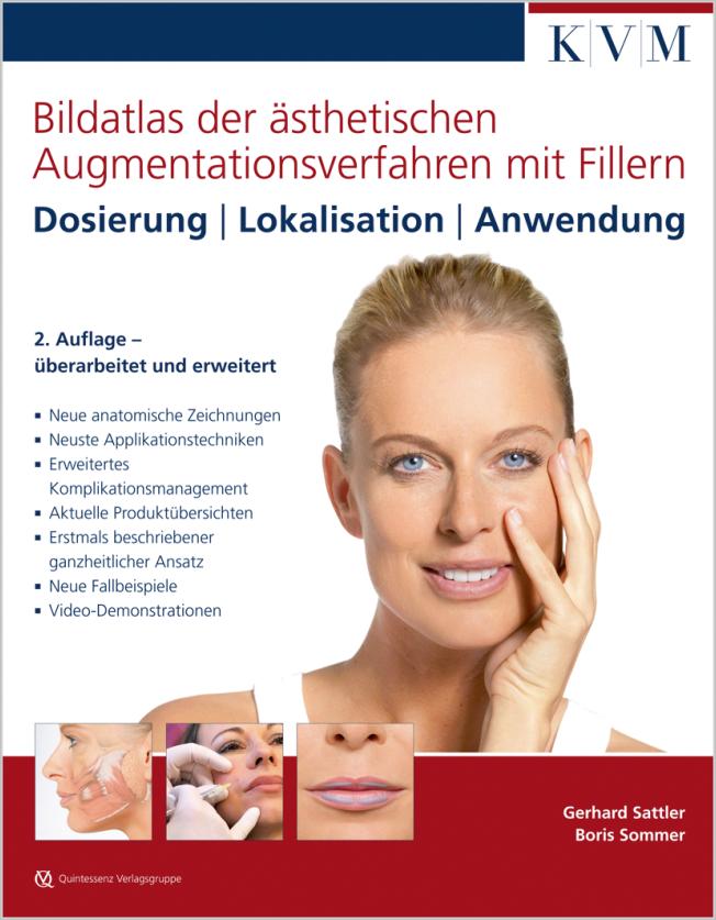 Sattler: Bildatlas der ästhetischen Augmentationsverfahren mit Fillern