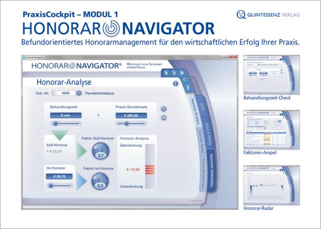 PraxisCockpit – Modul 1: Honorar Navigator